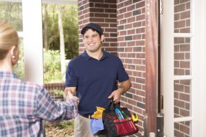 hvac-professional-greeting-homeowner